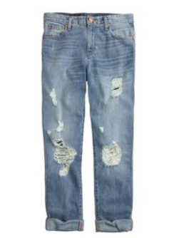J Crew Boyfriend Jean In Ludington Wash $135.00 on sale for $115.00