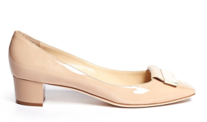 Jimmy Choo Iris Square Toe Patent Pumps $545.00