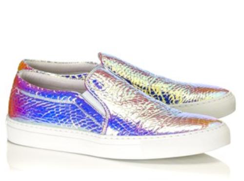Joshua Sanders Rosa Vipeta Bianco Skate Shoes $440.00