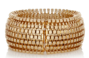 Kenneth Jay Lane Gold-Plated Bracelet $85.00