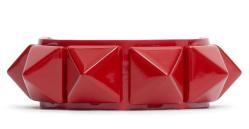 Valentino Rockstud Patent Leather Bracelet $345.00