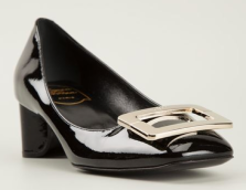 Roger Vivier Pilgrim Buckle Pumps $788.00
