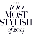 100 Most Stylish Of 2014
