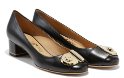 Salvatore Ferragamo Block Heel Pump