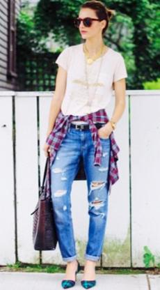 Summer Style - Boyfriend Jeans