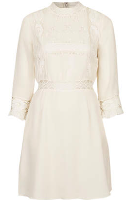 Victorina Lace Detail Dress