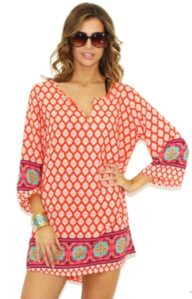West Coast Wardrobe Mayan Tunic $53.00