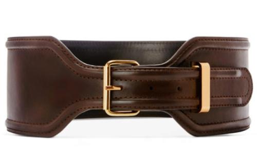 Brown Smooth Belt