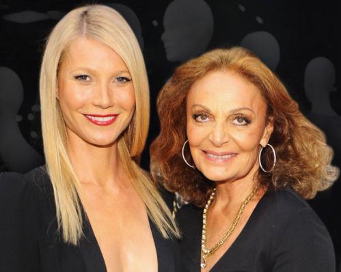 Gwyneth Paltrow & Diane Von Furstenberg