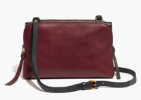 Madewell The Twin Pouch Crossbody $138.00