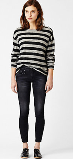 Steven Allen Kate Sweater With Holes $345.00