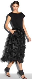 Milly Fil Coupe 3:4 Katie skirt $895.00 on sale for $447.99