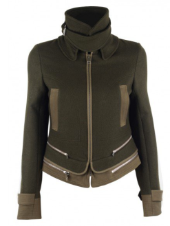Vanessa Bruno Busko Military Jacket $880.00 on sale for $528.00