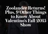 Zoolander At Valentino