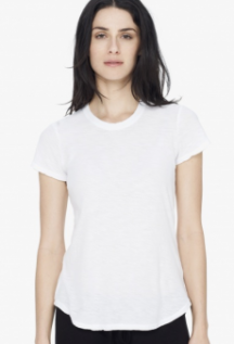 James Perse Sheet Slub Crew Neck Tee