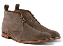 Marcus Washed-Suede Chukka Boots
