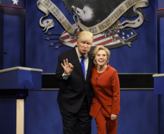 Saturday Night Live's 42nd Season Returned With Spot-On Trump, Clinton, and Sanders Impressions.png
